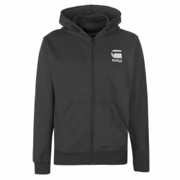 G Star Hooded Zip Sweater