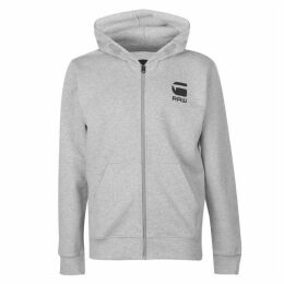 G Star Hooded Zip Sweater