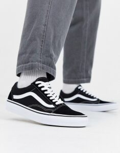 Vans Old Skool trainers In black/white