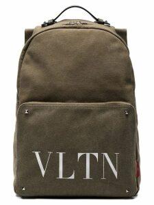 Valentino Valentino Garavani VLTN logo backpack - Green