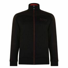 Boss Zipped Logo Sweatshirt