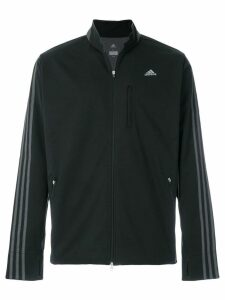 Adidas By Kolor stripe sleeve track jacket - Black