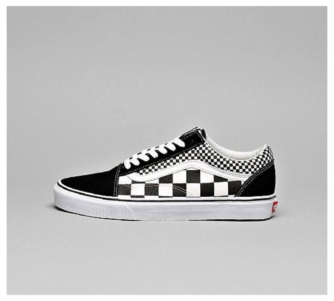 3bd4a674f33a Old Skool Mixed Check Trainer by Vans