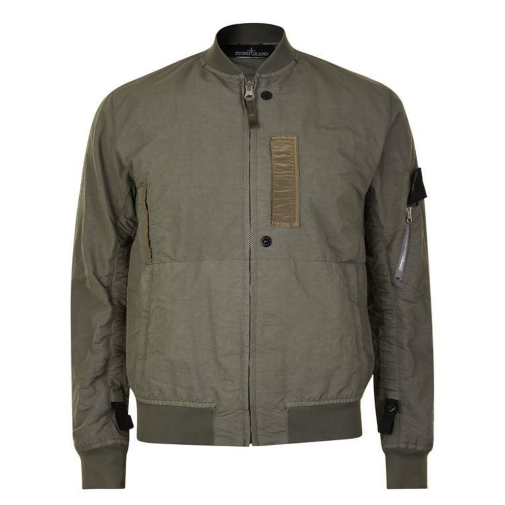 0c62bbb18 STONE ISLAND SHADOW PROJECT Stone Naslan Bomber Jacket by STONE ...