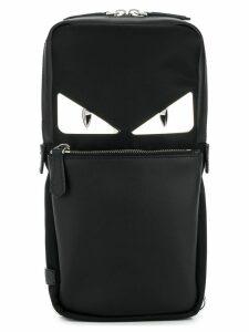 Fendi Bag Bugs-eyes backpack - Black