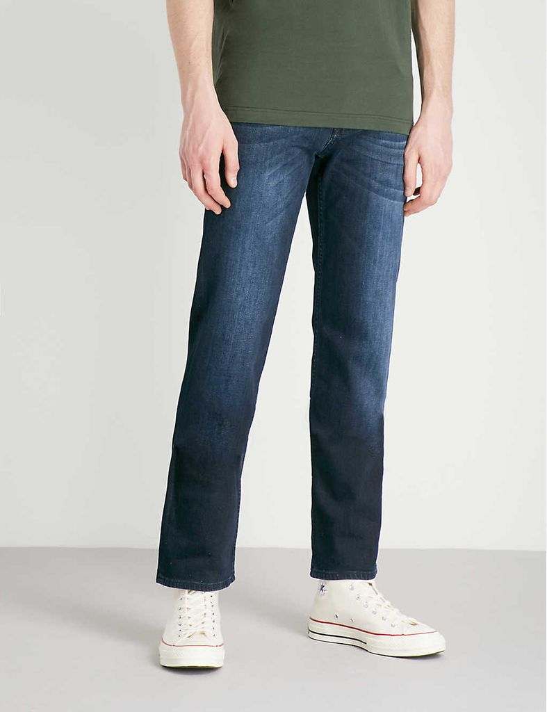Standard Luxe Performance regular-fit jeans