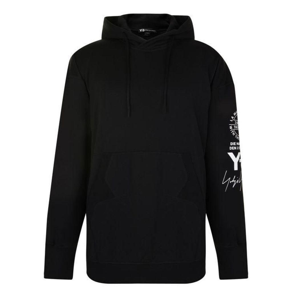 Y3 Graphic Hooded Sweatshirt