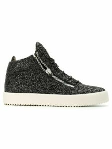Giuseppe Zanotti glitter Kriss sneakers - Black