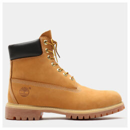 Timberland Premium 6 Inch Boot For Men In Yellow Yellow, Size 17.5