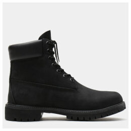 Timberland Premium 6 Inch Boot For Men In Black Black, Size 17.5