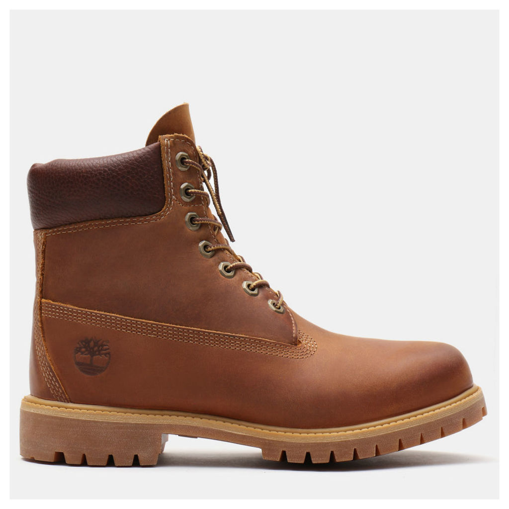 Timberland Heritage Classic 6 Inch Boot For Men In Brown Brown, Size 14.5