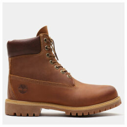 Timberland Heritage Classic 6 Inch Boot For Men In Brown Brown, Size 13.5