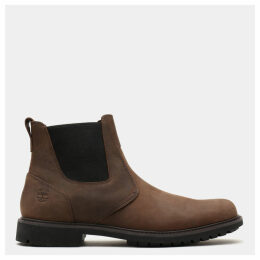 Timberland Stormbuck Chelsea Boot For Men In Brown Brown, Size 14.5