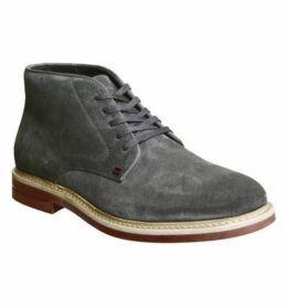 Ask the Missus Handy Chukka CHARCOAL SUEDE