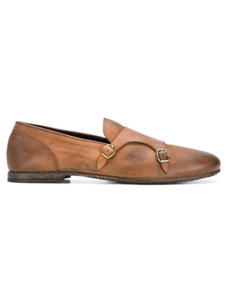 Leqarant classic monk shoes - Brown