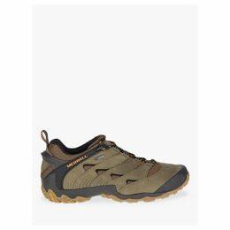 Merrell Chameleon 7 Men's Waterproof Gore-Tex Hiking Shoes, Taupe