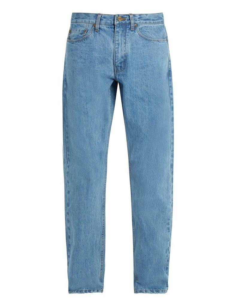 Luke straight-leg denim jeans