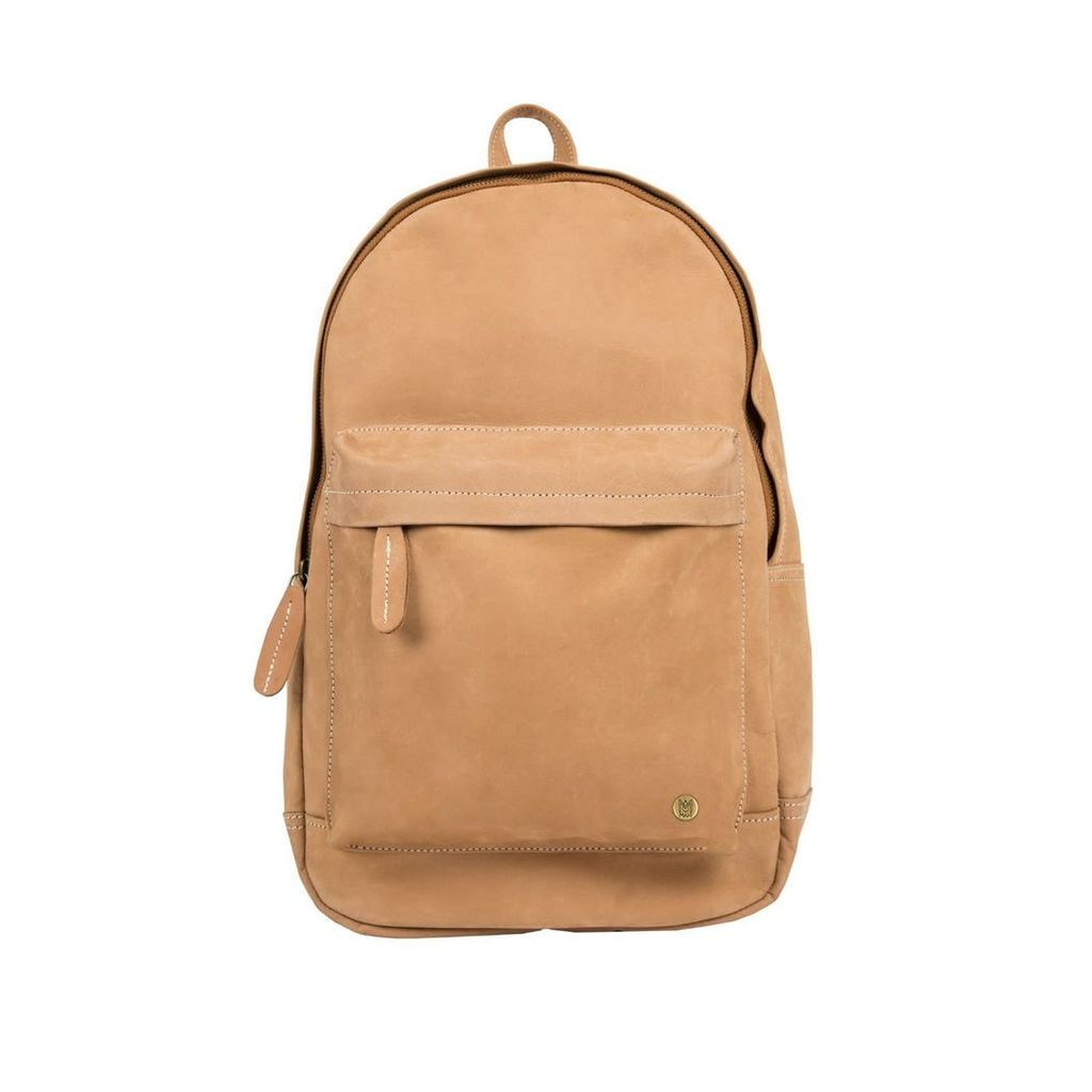 MAHI Leather - Leather Classic Backpack Rucksack In Vintage Cognac