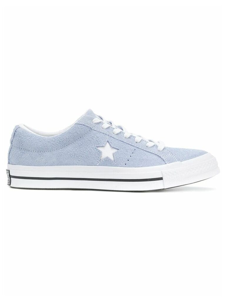 Converse star patched sneakers - Blue