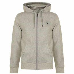 Polo Ralph Lauren Zipped Logo Hooded Sweatshirt