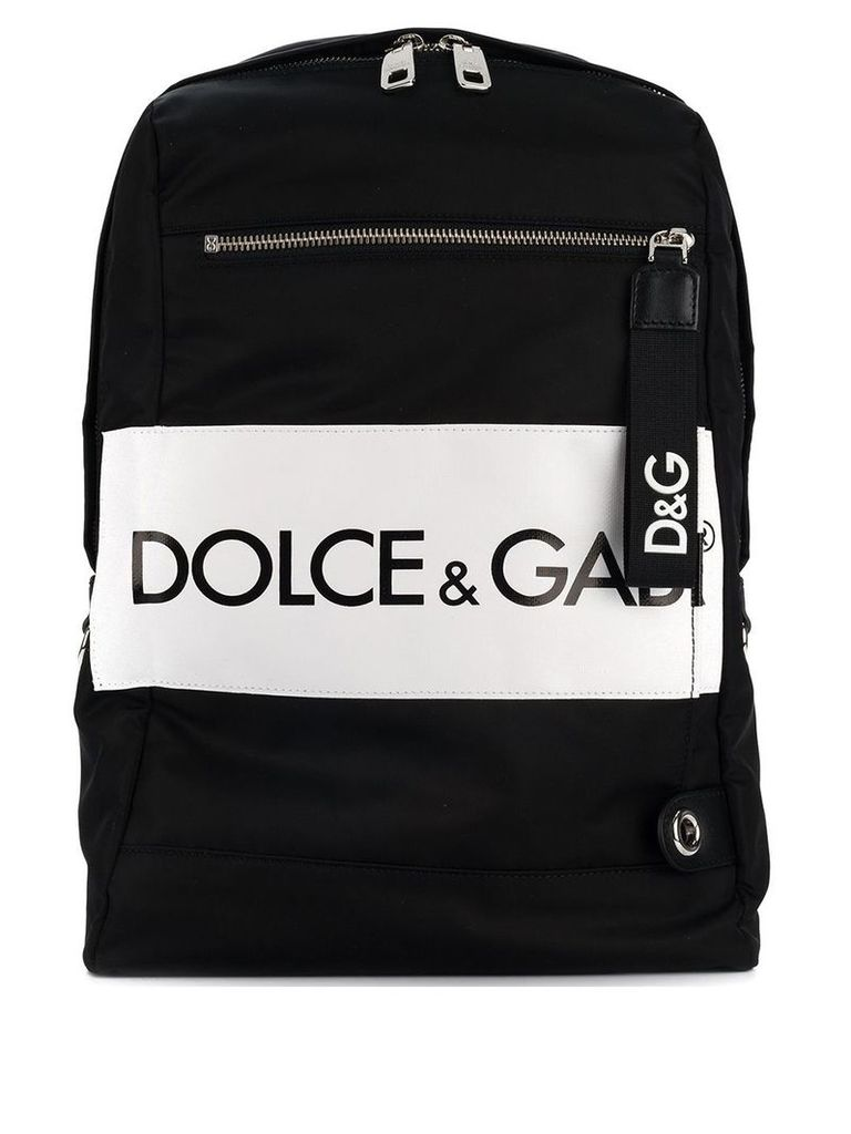 Dolce & Gabbana convertible strap backpack - Black
