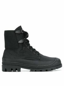 Toga Virilis lace-up boots - Black