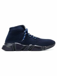 Balenciaga Bal Speed hi-top sneakers - Blue
