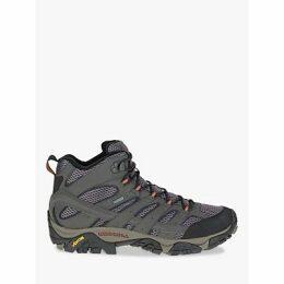 Merrell MOAB 2 Mid Men's Waterproof Gore-Tex Hiking Boots, Beluga