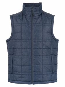 Track & Field padded gilet - Blue