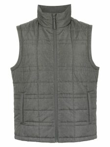 Track & Field padded gilet - Grey
