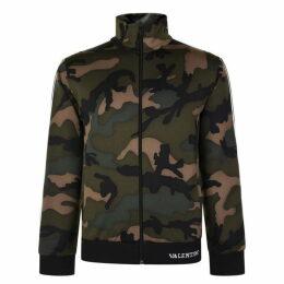Valentino Camouflage Zip Sweatshirt