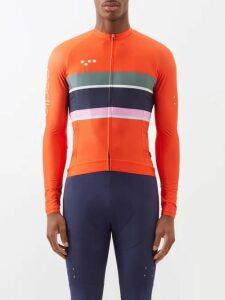 Balenciaga - Logo Embroidered Bomber Jacket - Mens - Red