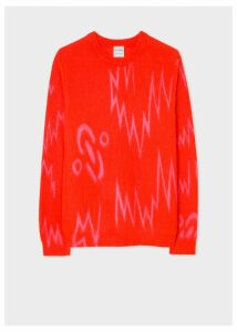 Paul Smith + The Chemical Brothers For Hingston Studio - Red 'Born In The Echoes' Sweater