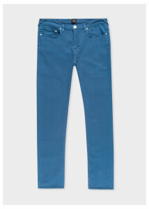 Men's Slim-Fit Blue Garment-Dye Jeans