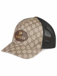 Gucci Original GG canvas baseball hat with Web - Neutrals by Gucci ... 62dcf6e0a97