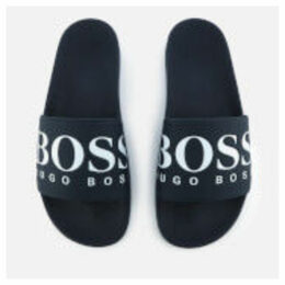 BOSS Men's Solar Slide Sandals - Dark Blue