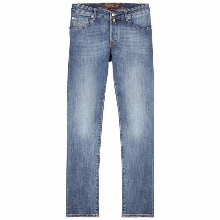 Jacob Cohën J622 Light Blue Slim-leg Jeans