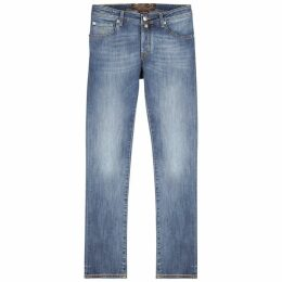 Jacob Cohën J622 Light Blue Slim-leg Jeans