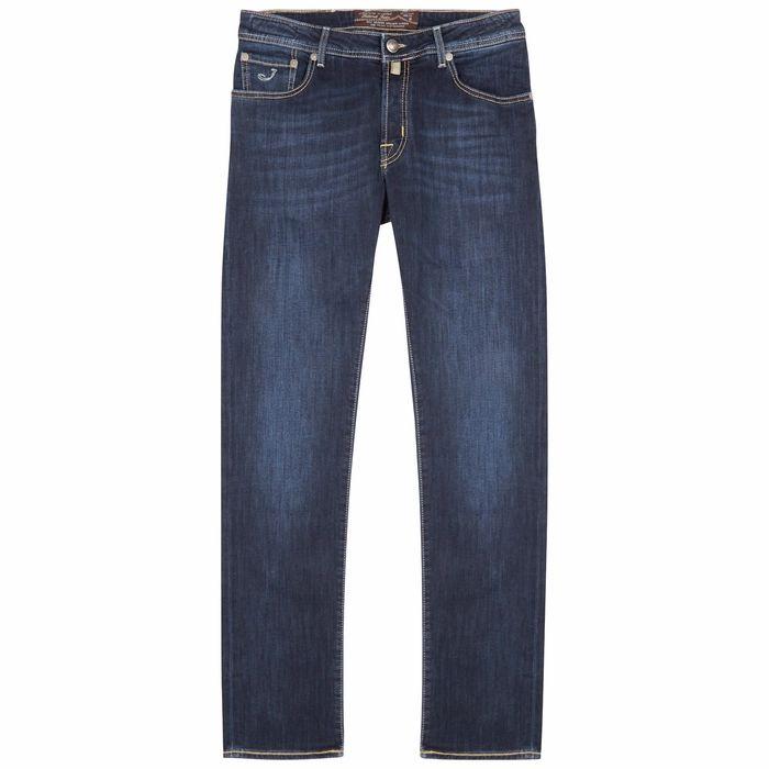 Jacob Cohën J622 Dark Blue Slim-leg Jeans