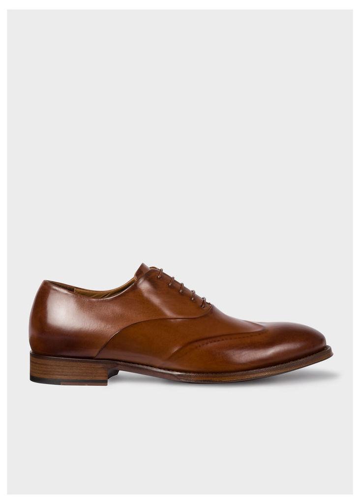 Men's Tan Calf Leather 'Lomax' Oxford Shoes