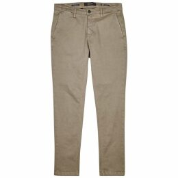 Replay Zeumar Hyperflex Sage Slim-leg Jeans