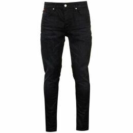 Lee Cooper Coated Blue Mens Jeans