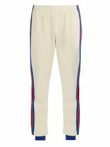 Side-stripe track pants