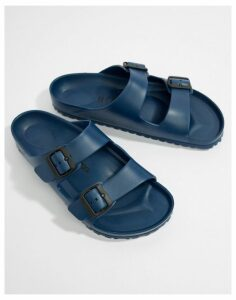 Birkenstock Arizona EVA sandals in navy