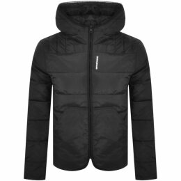 Emporio Armani Quilted Down Jacket Black