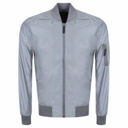 Alpha Industries MA 1 Reflective Jacket Grey