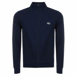 Lacoste Sport Zip Up Sweatshirt Navy