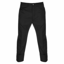 Vivienne Westwood Cropped Trousers Black