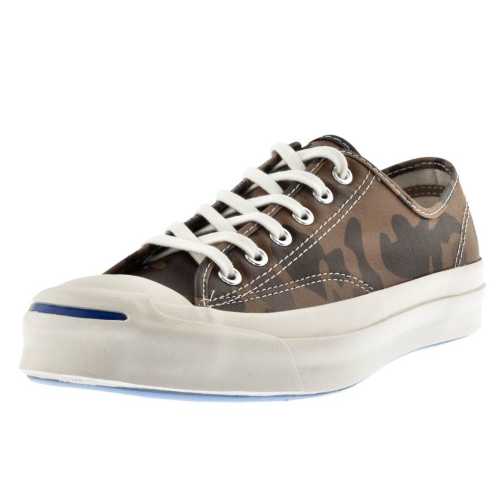 Converse Jack Purcell Signature OX Trainers Brown