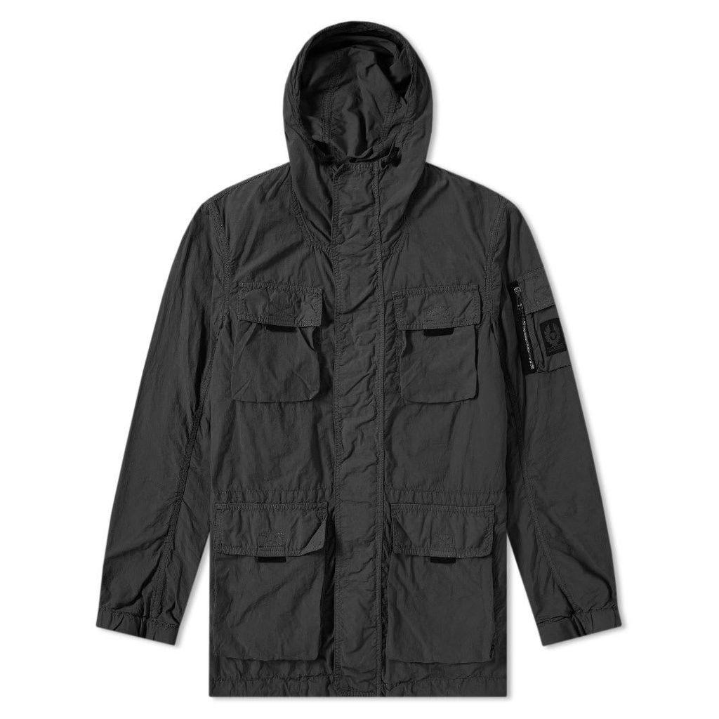 7996d1a608 Belstaff Pallington Garment Dyed Nylon Jacket Black by Belstaff ...